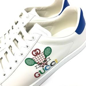 NIB Gucci Women's Ace Sneaker with Gucci Tennis